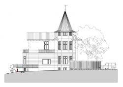 Villa, Möln